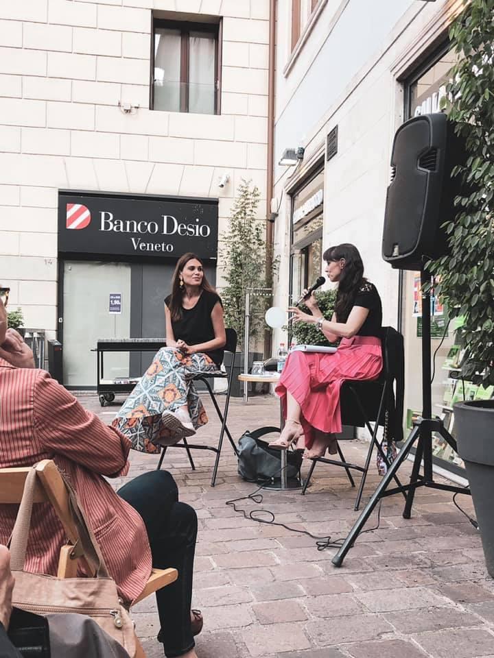 ilaria rebecchi eventi veneto presentatrice vicenza donne gatte vicentine amici della ebrtoliana giornalista veneto le grandi donne del cinema marta perego libreria galla