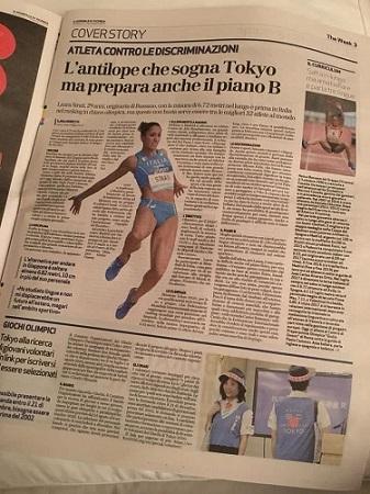 laura strati intervsita ilaria rebecchi il giornale di vicenza donne venete sport veneto the week